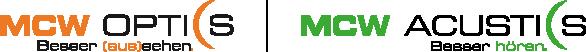MCW Optics / Acustics Logo